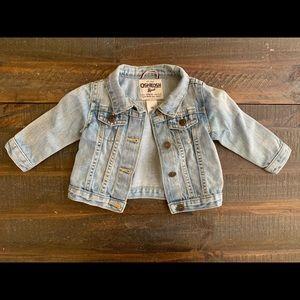 Oshkosh baby girl jean jacket